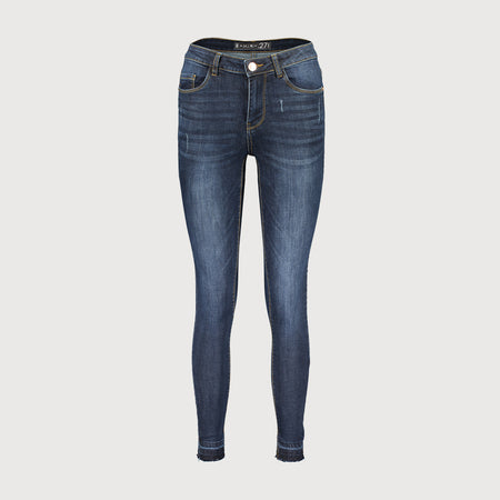 Angila women dark blue 'skinny fit' stretch jeans (MI-2017)