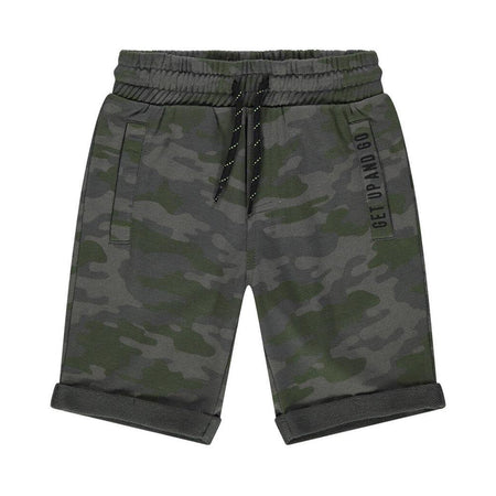 OR Boys Camo Printed French Terry Shorts (OR-5063)