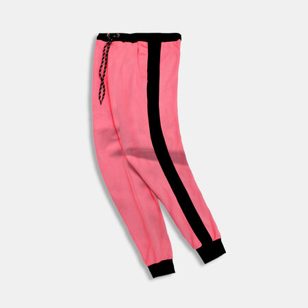 ZR Women Side Stripe Slim Fit Cuffed Joggers  (ZA-2346)