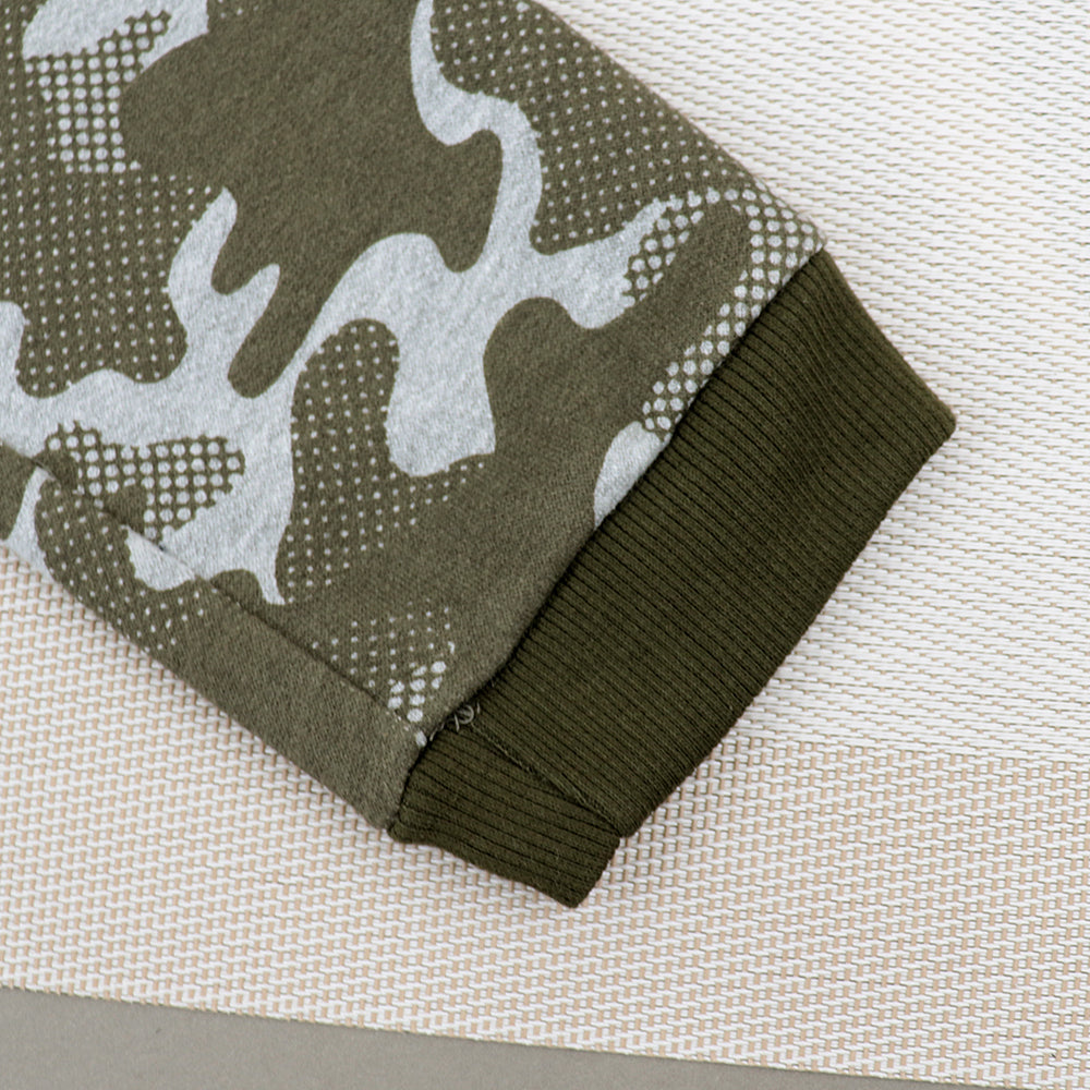 Kids all over camo printed Closed bottom Joggers (XM-10207)