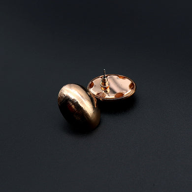 Oval Shaped Stud earrings