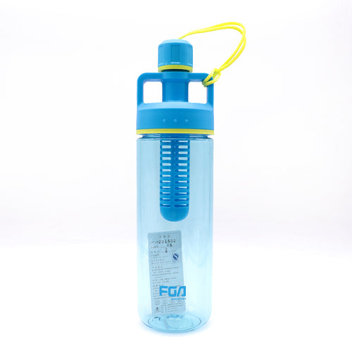 FGA Fruit Flavor Infuser Water Bottle with Handle
