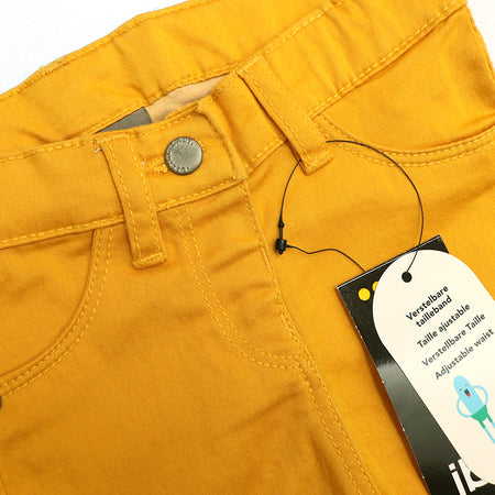 JBC GIRLS STRETCH YELLOW PANTS (JB-2449)
