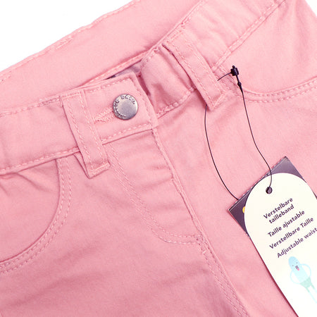 JBC GIRLS STRETCH BABY PINK PANTS (JB-2450)