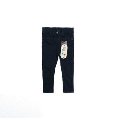 JBC GIRLS STRETCH NAVY PANTS (JB-2448)