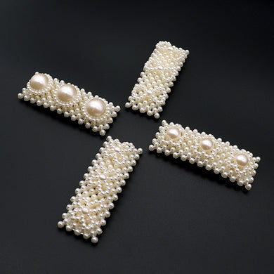 Over sized Pearl Decorated Tick Tack Pins