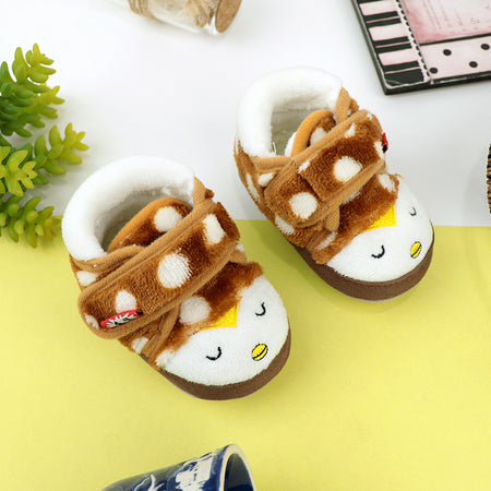 Babies Faux Fur lining Shoes  3Months to 18Months (BS-20774)