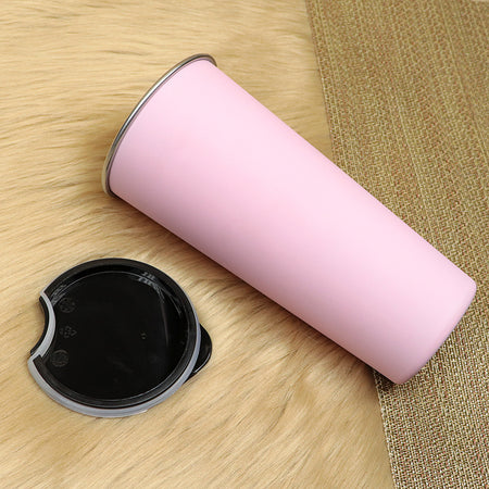 Decent pink Stainless steel insulated Basic Coffee Cup Travel Mug (BT-20169)