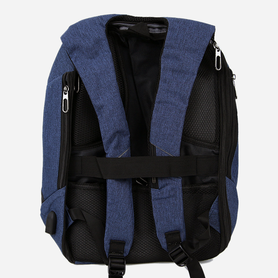 "15.5""LAPTOP BACKPACK WITH USB PORT (BG-31161)"
