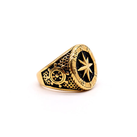 PREMIUM QUALITY BLACK EMBELLISHED RING (RI-2483)