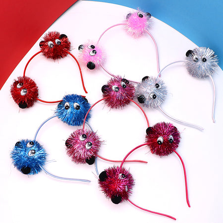 Sparkle Monster ball Decorated Hairband