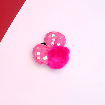 Fluffy Mini Mise shaped Hair bobbles (PI-3067)