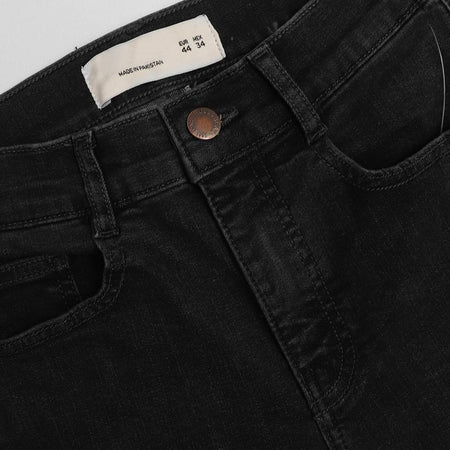 P&B Women Charcoal Super Skinny Jeans  (PU-1317)