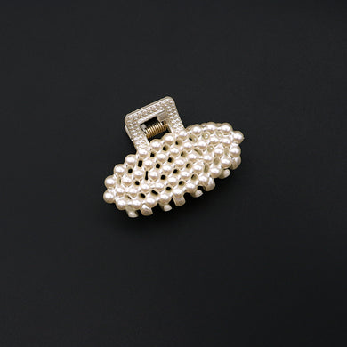 Decent Pearl Decorated Hair Catcher (HC-3431)