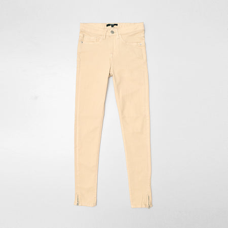 GD Lilly Skinny leg Stretch Jeans with Zips on Leg Cuffs (GD-10004)