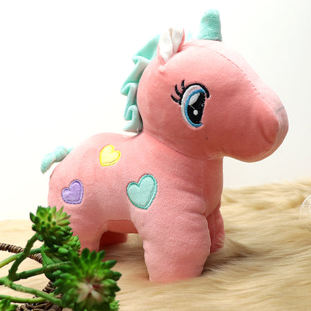 Plush Supreme Quality Unicorn Soft Stuffed Toy 10 inches Height