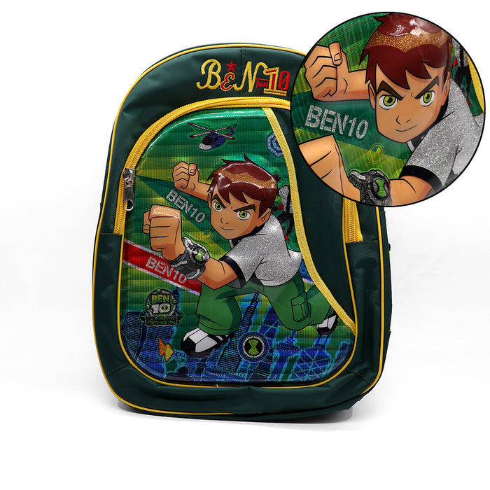 KIDS 3D BEN10 SUPER HERO SCHOOL BAG (BA-2936)