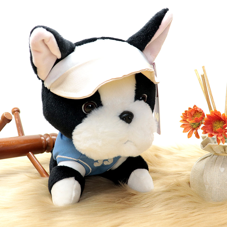 Plush Supreme Quality Cute Puppy Soft Stuffed Toy 10 inches Height (DO-20208)