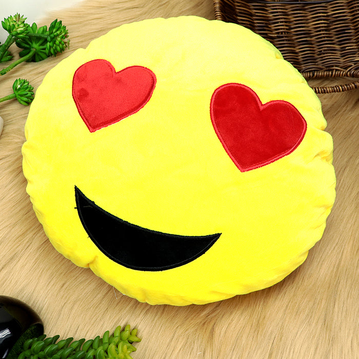 Quality Microfiber stuffed Soft Plush Emoji Cushions