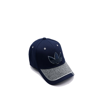 AD TWO TONE 3D EMBROIDERY BASEBALL CAP