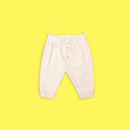 Babies Close bottom Joggers with Button Fly (BC-5137)