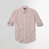 Men Nxt Pure Cotton Long Sleeve Brown Checked Casual Shirt  (NE-4305)