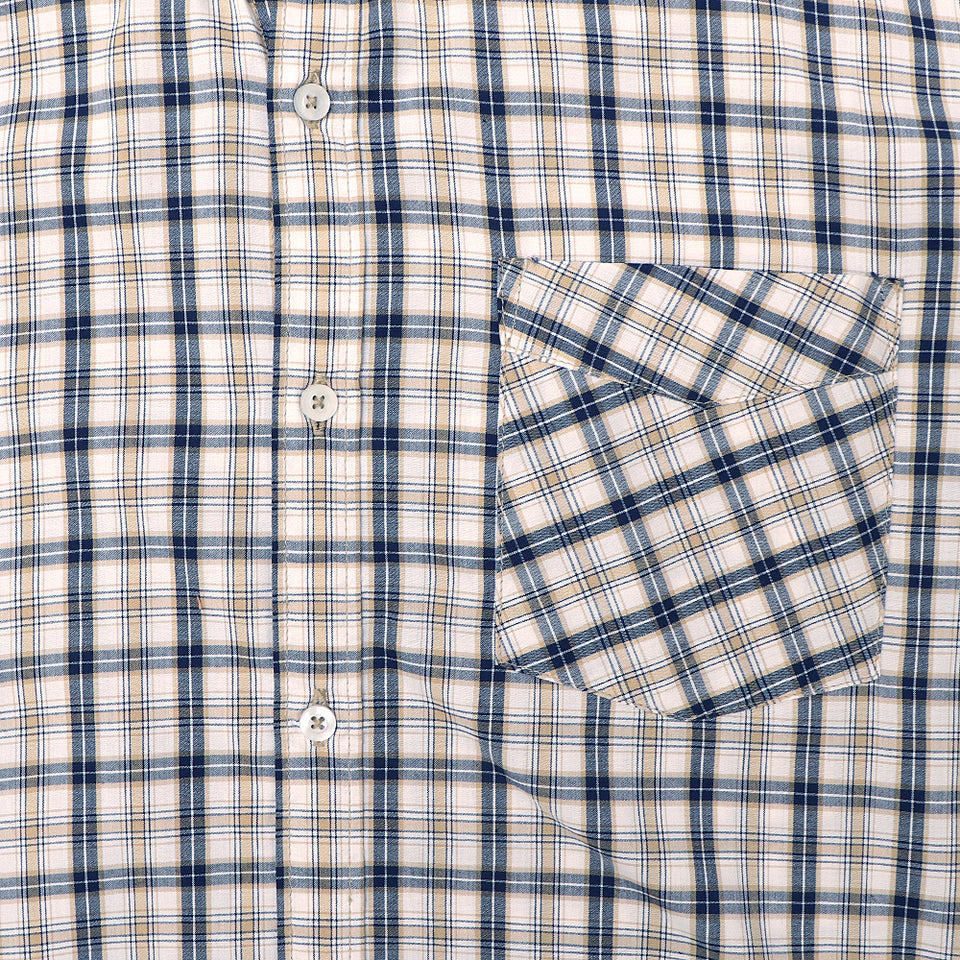 Men Nxt Pure Cotton Long Sleeve Brown Checked Casual Shirt  (NE-4306)