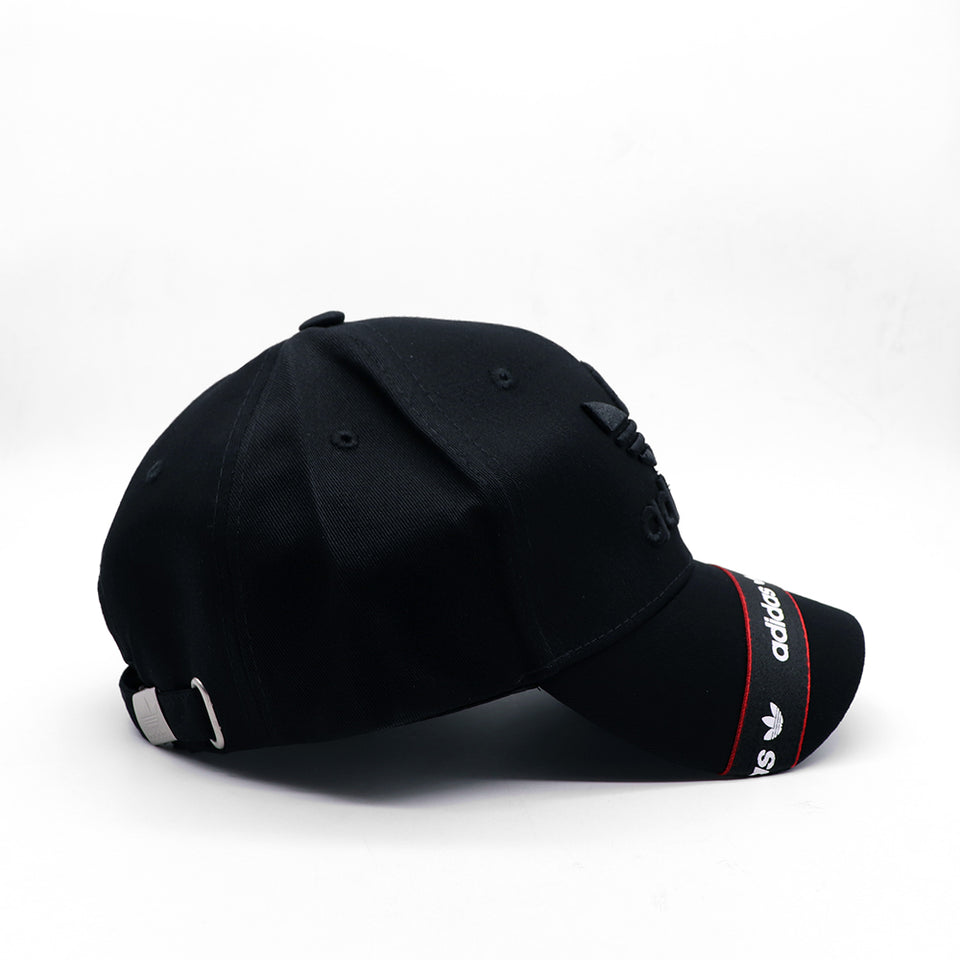 AD 3D EMBROIDERY & PRINT STRIPE BASEBALL CAP