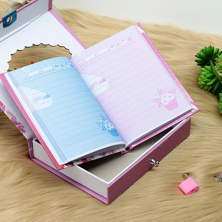 BARBIE DESIGN PERSONAL LOCK DIARY FOR KIDS (NB-20209)