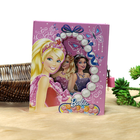 BARBIE DESIGN PERSONAL LOCK DIARY FOR KIDS  (NB-20210)