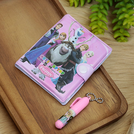Frozen movie Characters Printed Diary with Small Pen for Kids (NB-5201)