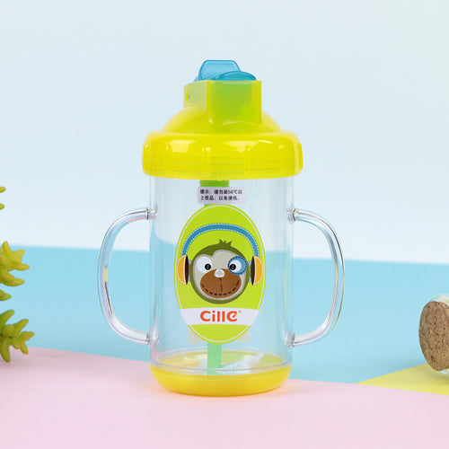 Colorful Anti Spoil BPA free Water Bottle with Handles for Kids  (CL-20230)
