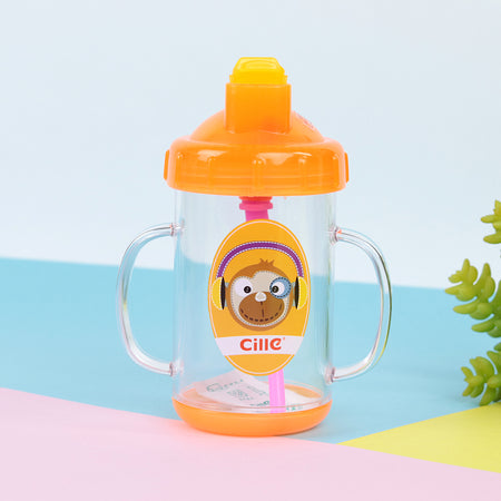 Colorful Anti Spoil BPA free Water Bottle with Handles for Kids (CL-20229)