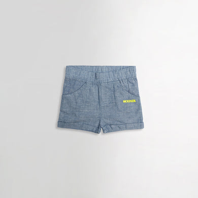 Babies MK Chambray Shorts With Printing (MC-446)