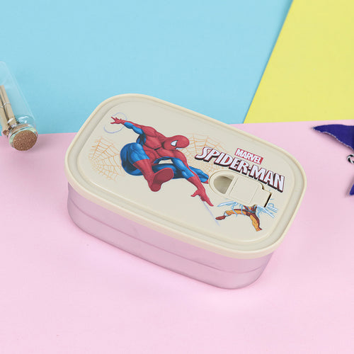 Spider Man Multi-function Household Lunch Box Stainless Steel Split (TB-20235)