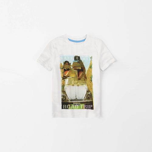 Pure Cotton T-Shirt Sublimation Graphic T-Shirt (GE-482)
