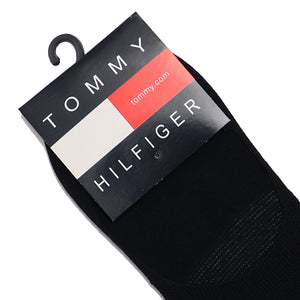 Black Signature No Show Socks (TO-1411)