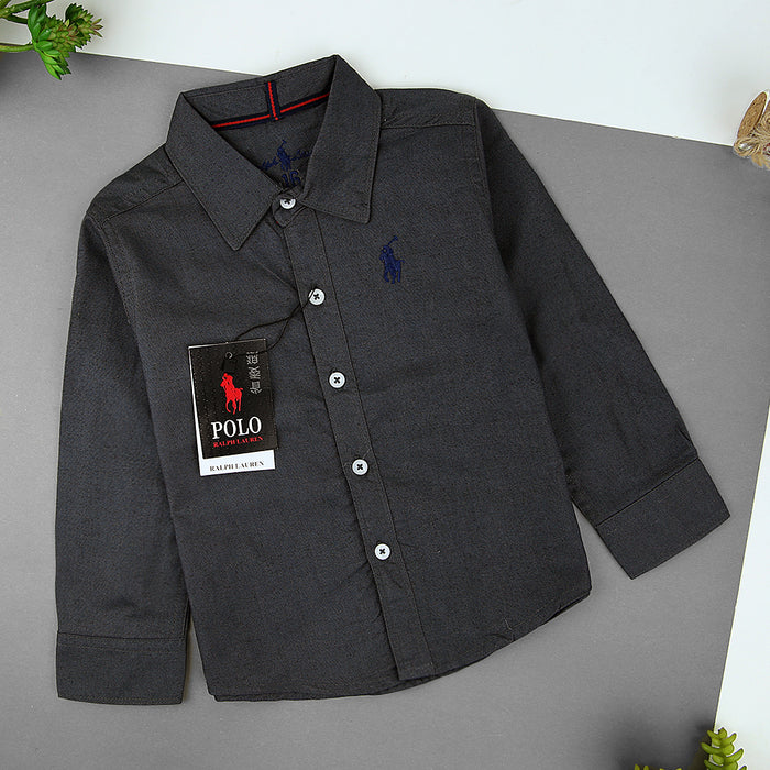 kids Embroidered Casual Shirt