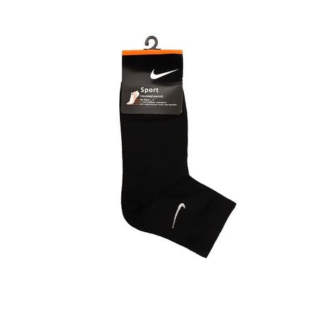 Black Signature Cotton No Show Socks (SP-1486)