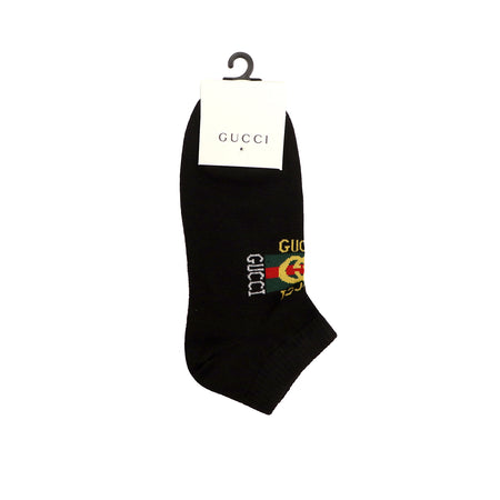 Jacquard Signature Ankle Socks (GU-1490)
