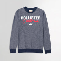 Hlster California Signature Printed Vertical Striped Sweatshirt  (HO-10023)