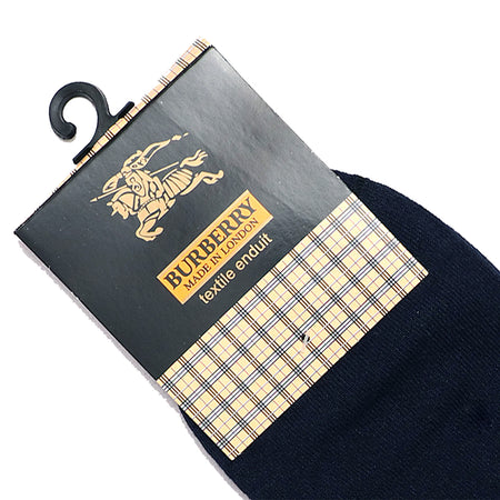 Navy Signature high Ankle Socks (BU-1487)