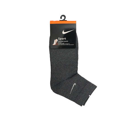 Charcoal Signature Cotton No Show Socks (SP-1496)