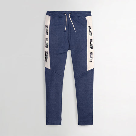 Signature Print Racer Striped Open bottom Joggers (HO-10025)