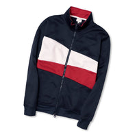 Men Exclusive Mock Neck Color Block Zip-up Jacket (CE-10438)