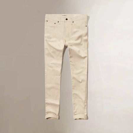 oldnvy Men beige slim Straight stretch cotton Jeans (ON-1517)