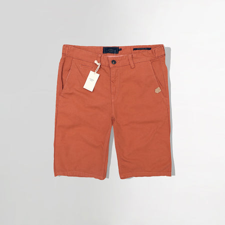 MO Rust slim fit chino shorts (MO-2925)