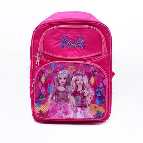 Barbie Glitter Doll School Bag  (BA-2937)