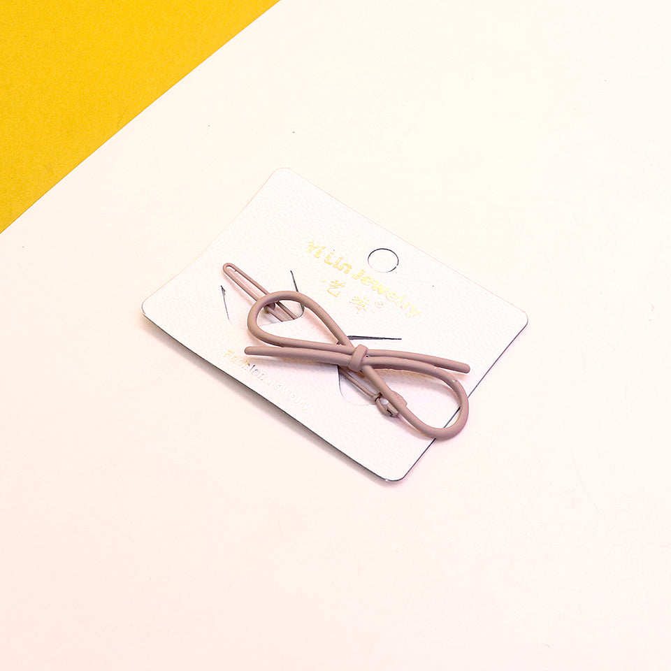 Over Sized Metal knot Hair clip