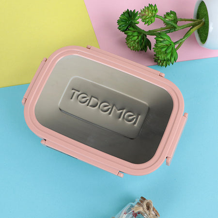 Tedemei High Quality Insulated Portable BPA Free Leak-proof Lunch Box/Storage Container